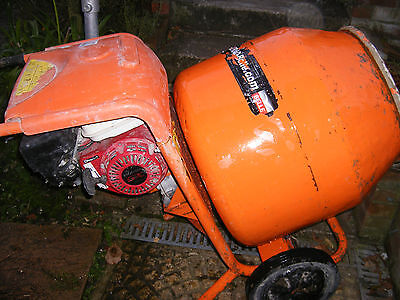 BELLE150 cement mixer with HONDA GX120 YR2014 petrol engine FOR THE PRO