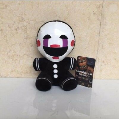 2018 FNAF Five Nights at Freddy's Nightmare Puppet Clown Marionet Plush Doll Toy