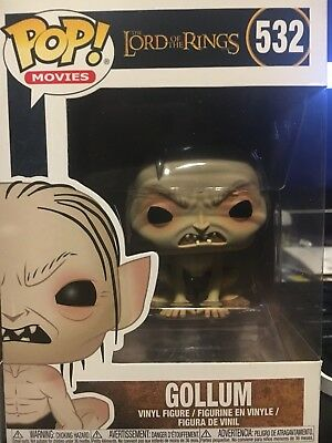 Funko Pop! Movies Lord of the Rings LOTR GOLLUM 532 Vinyl ***IN-STOCK***