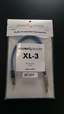Sound Devices XL-3 Adapter