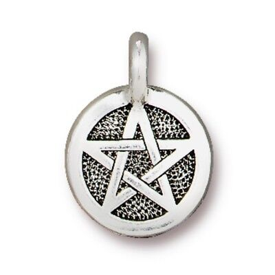 T773 Antiqued Silver Plated Lead Free Pewter TierraCast Equality Charm
