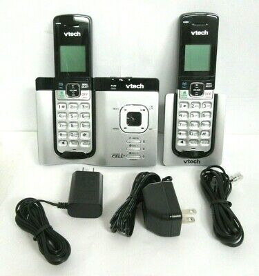 NOB VTech DS6621-2 DECT 6.0 Expandable Cordless Phone w/ BT Connect to Cell