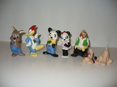 Walter Lantz Woody Woodpecker Figurine Collection Don Roberto 1940's RARE