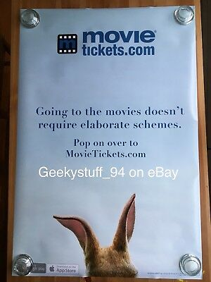 Peter Rabbit DS Theatrical Movie Poster 27x40 ***RARE***