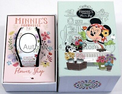 NEW Disney Parks EPCOT Minnie Magic Band 2018 Flower & Garden Festival MagicBand