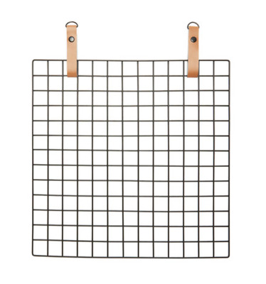 Mesh Board Pins Goals Pinboard Notice Large Memo Black Wire  Frame Brand New