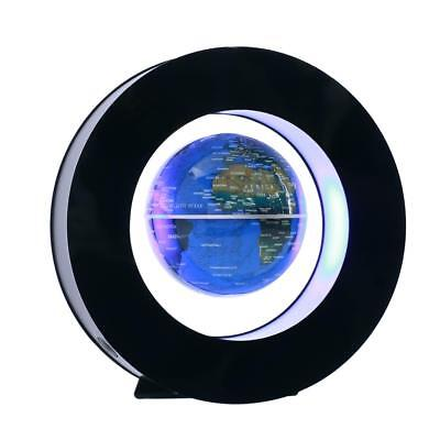 Round shape Magnetic Levitation Floating Globe LED Light World Map Decor Fashion