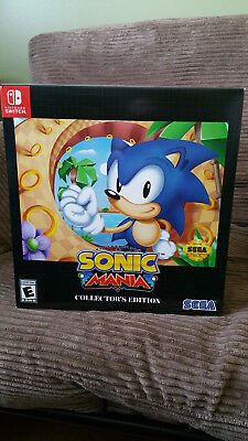 Sonic Mania: Collector's Edition Nintendo Switch NO GAME INCLUDED