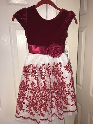 New Little S Jona Michelle Dresses In Red White Size
