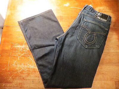 Mens Big Star Pioneer Boot Cut Jeans Size 35X32 Very Nice