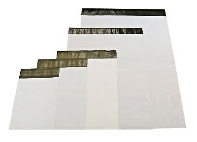 Choose Size & Quantity THICK 2.4 Mil Commercial Grade Poly Jacket Mailers #0 #1