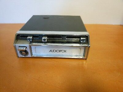 Vintage 1970's  Audiovox Stereo 8-Track cartridge tape player  Not able to test