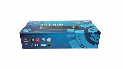 NEW 2018 MAG 254 W1 IPTV Set-Top-Box MAG254 BUILT IN WIFI 150 MBps HDMI cable