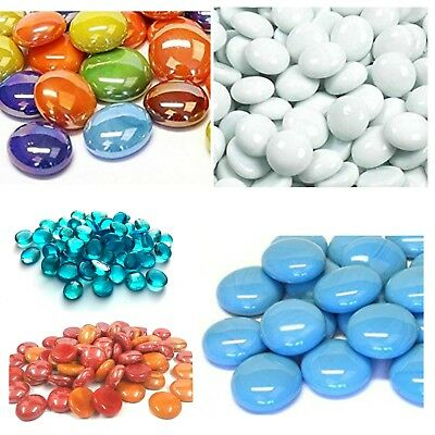 Decorative Glass Pebble Stones Beads Vase Nuggets Wedding Decoration
