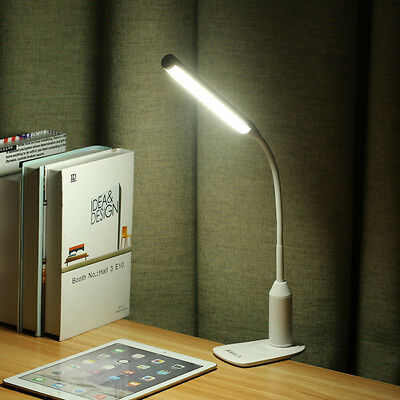 ARILUX? AL-TL02 Flexible Clamp 6W LED USB Touch Dimmable Reading Table Light Cl