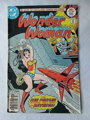 Wonder Woman Bondage Nazi Robot DC Comics 229 Red Panzer Golden Lasso Gal Gadot