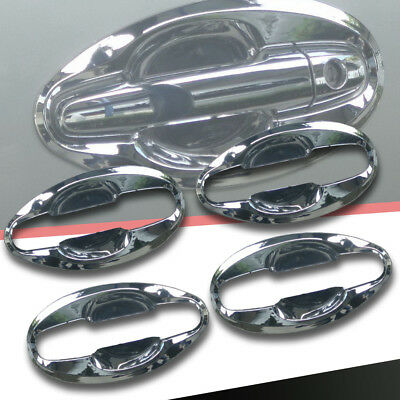 Fit For Toyota Hilux Vigo Champ Mk7 2012-2014 Chrome Cover Door Handle Bowl