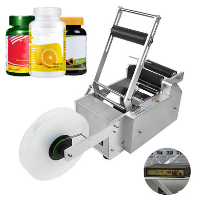 Top Quality Lt-50S Semi-Automatic Round Bottle Labeling Machine Labeler Machine