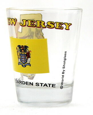 New Jersey The Garden State All-American Collection Shot Glass Shotglass