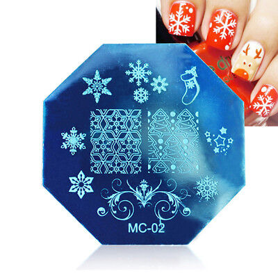 Fashion Manicure Template Nail Art Image Stamping Polish Print Plate Stamper