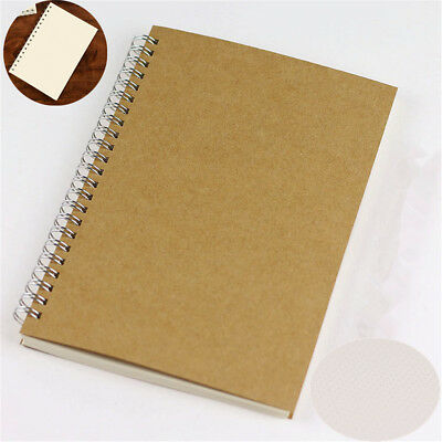 1pc Bullet Journal Notebook A5 Hardcover Cardboard Dot Grid Spiral Journal Diary