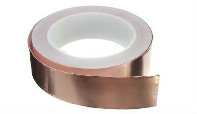 Single-sided 50mm Conductive Adhesive Copper Foil EMI Shield Tape 4 Guitar Bass