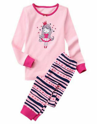 NWT Gymboree Girls Gymmies ballerina pajama set 5,10
