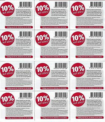 12 x rossmann gutschein 10 rabatt coupon g ltig bis 31 dm m ller eur 1 00. Black Bedroom Furniture Sets. Home Design Ideas