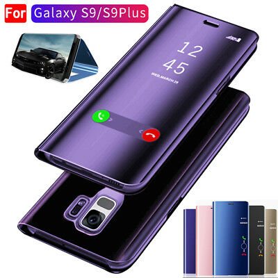 360 Clear View Mirror Case for Samsung Galaxy S9 Plus Shockproof Full Cover Skin