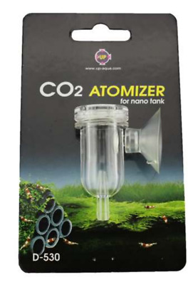 UP CO2 Diffuser & Bubble Counter - for planted aquariums up to 100L