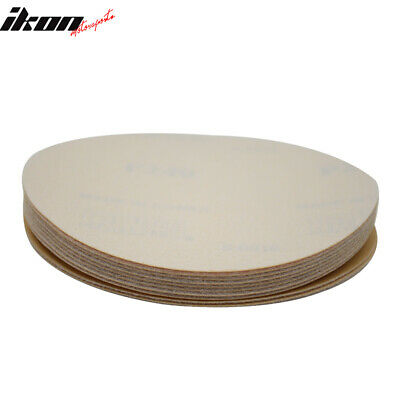 Disc 240 Grit 5 PSA Auto Sanding Paper Sheets Repair Sandpaper Velcro 10PC
