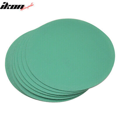 Disc 240 Grit 5 PSA Green Auto Sanding Paper Sheets Repair Sand Velcro 10PC