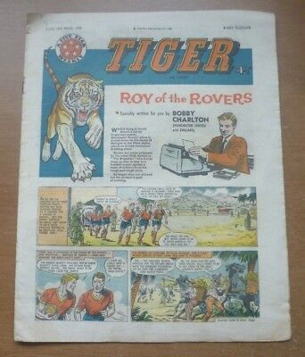 Tiger Comic (Featuring Roy of the Rovers), 16th March 1960.