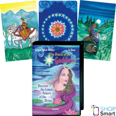 The Oracle Of The Goddess Set Book Deck Cards Esoteric Fortune Telling Agm New