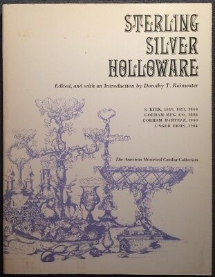 Sterling Silver Holloware Catalog by Rainwater, American Collection 1973 1st Ed