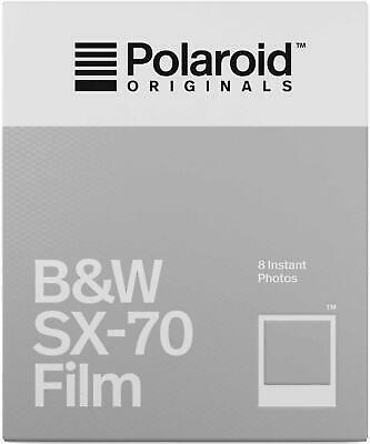 Polaroid Originals Instant B&W Film for SX-70 Cameras