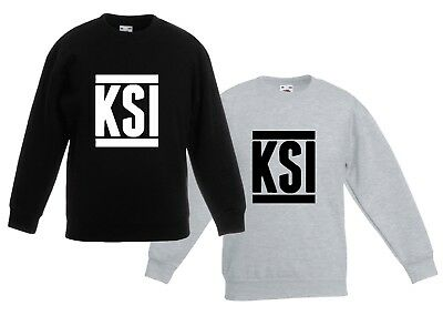 KSI sweatshirt CHILDRENS kids JUMPER Sidemen YouTube Army FIFA Gaming keep up