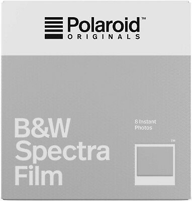 Polaroid Originals Instant Black and White Film for Spectra Cameras