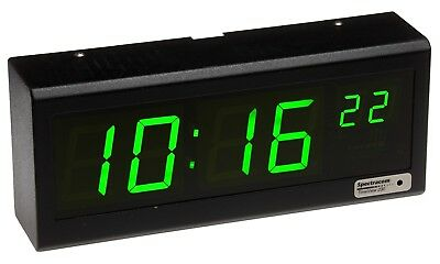 Spectracom 8175 TimeView 230 Serial Timecode Large LED Wall Clock Display RS-485