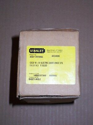 STANLEY ELECTRIC DOOR Hinge CEFBB179-54 - $69 95 | PicClick