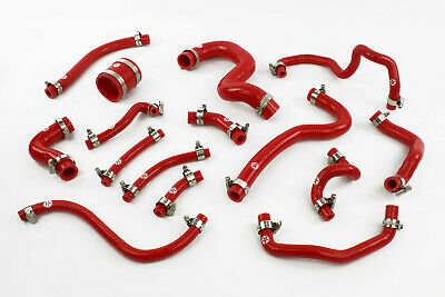 Stoney Racing Toyota Celica GT4 ST205 Silicone Breather & Vacuum Hose Kit Red