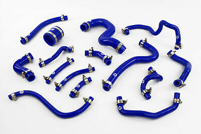 Stoney Racing Toyota Celica GT4 ST205 Silicone Breather & Vacuum Hose Kit Blue