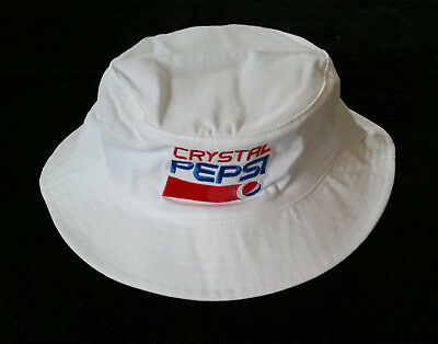 New Crystal Pepsi Bucket Hat