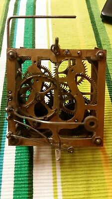 Antique Cuckoo Clock Movement /working