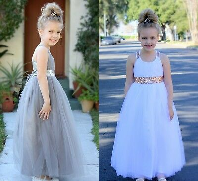 Sweetheart Neck Cross Straps A-Line Flower Girl Dress Formal Junior Dresses 173