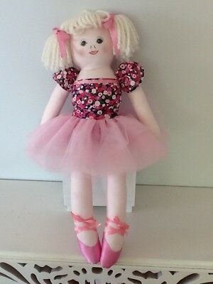 cloth doll pattern ballerina new 19 inches