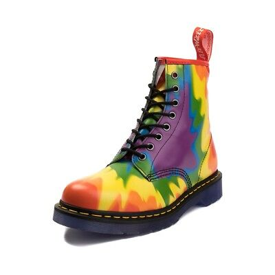 Dr. Martens Unisex 1460 8-Eye Bo Lace Up Genuine Leather Boots Shoes BRIGHT A2