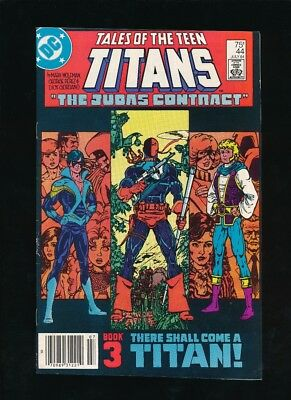 TALES OF THE TEEN TITANS #44 DC COMICS 1984 1ST APPEARANCE NIGHTWING UNPRESSED c