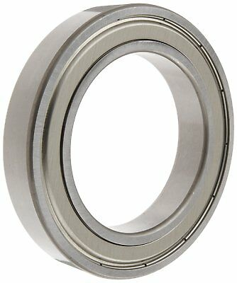 NSK 6005ZZ Deep Groove Ball Bearing, Single Row, Double Shielded, Pressed Steel