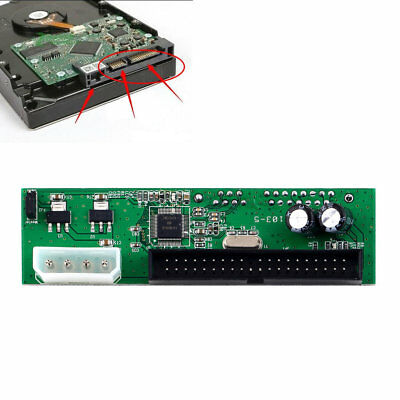 SATA 7+15 TO PATA IDE Converter Adapter For 3.5 HDD DVD MN YZ